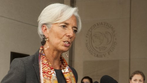 Christine Lagarde - Five-year term