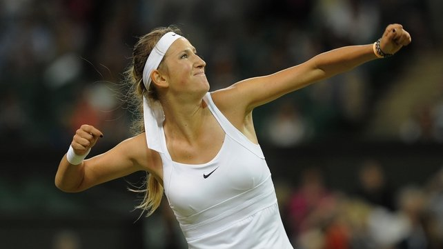 Victoria Azarenka claimed a hard fought victory over Sam Stosur