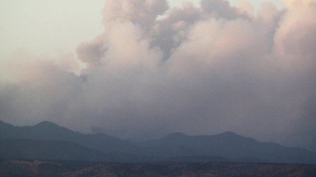 New Mexico - Wildfire has cast giant plumes of smoke over the region