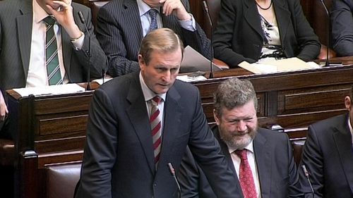 Enda Kenny - Said Council welcomed Ireland's progress