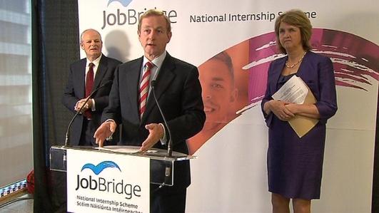 Jobs for 3 in every 5 Job Bridge Interns