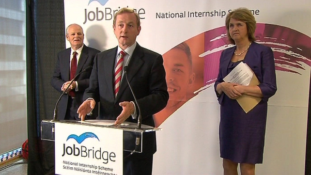 JobBridge - Scheme was launched this morning