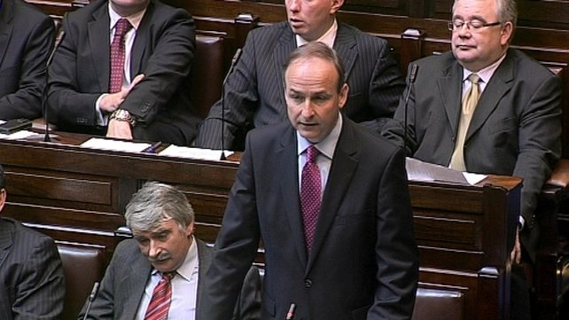Micheál Martin - Said the text was a big step backwards