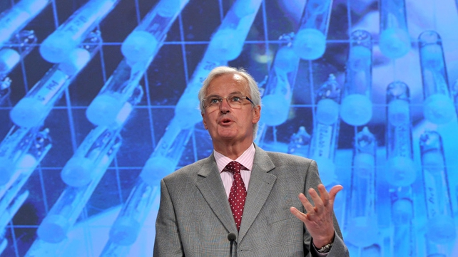 "Commissioner Michel Barnier says plans were ""final cogs in the wheel"""