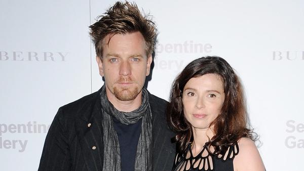 McGregor and wife Eve Mavrakis