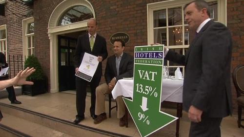 Dublin - New lower rate of VAT in effect