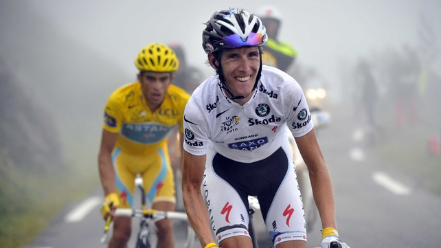 Alberto Contador has been signed for the next three years