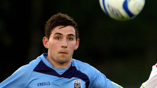 Graham Rusk's late goal was not enough to save UCD from defeat against Dundalk
