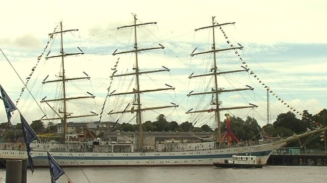 Tall Ships festival - Fleet has departed Waterford