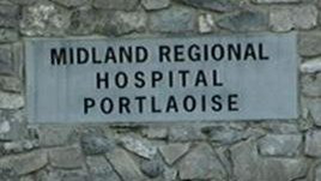 The man was taken to the Midland Regional Hospital in Portlaoise
