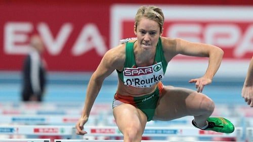 Derval O'Rourke finished second in Austria