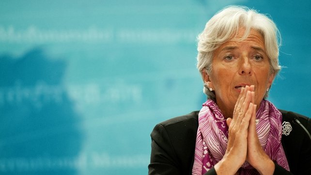 "Speaking in Tokyo, Christine Lagarde welcomed recent EU / ECB moves but said ""more needs to be done"""