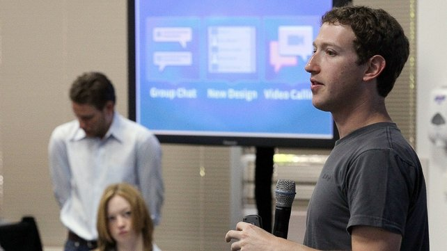 Facebook - CEO Mark Zuckerberg announced Skype integration