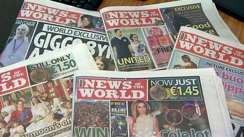 News of the World - Tabloid had been under severe pressure due to phone hacking revelations