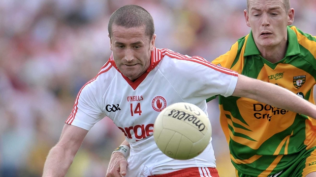 O'Neill - Is still not fit to resume his place in the Tyrone line-up