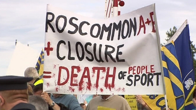 Roscommon - Estimated 1,000 took part in protest
