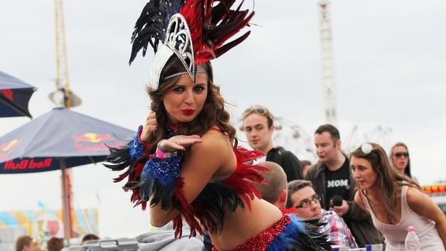 Burlesque at Oxegen