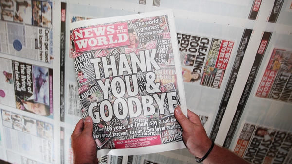 News of the World - The final edition