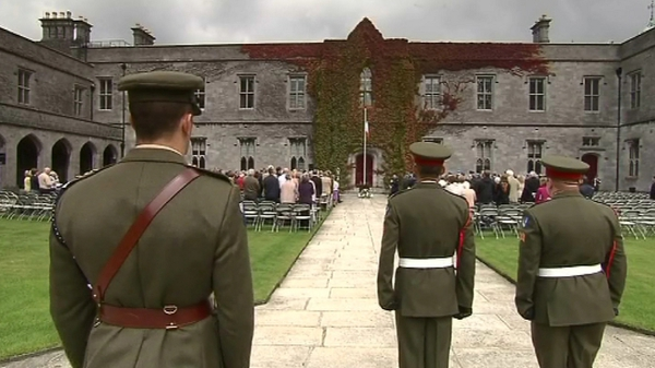Galway - First time National Day of Commemoration ceremonies held outside Dublin