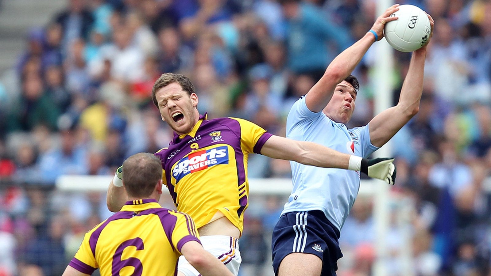 Image - Eamon Fennell in action for Dublin against Wexford
