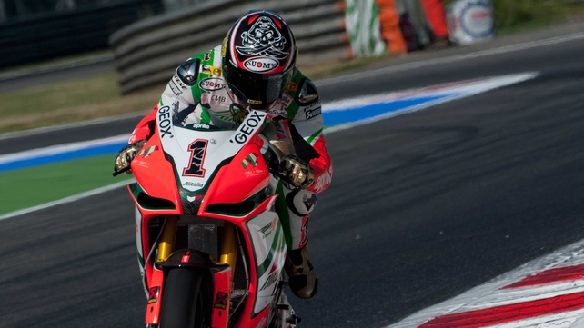 Max Biaggi has brought his career to an end