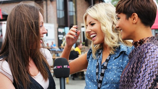 RTÉ TEN's Suzanne Byrne meets The Saturdays on Sunday