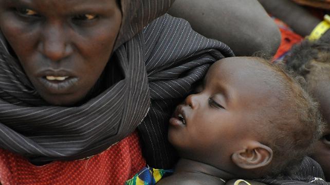 Children suffering from malnutrition