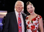 Gay Byrne with Imelda May