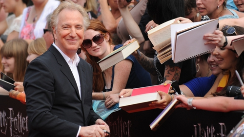 Alan Rickman passed away after a battle with cancer