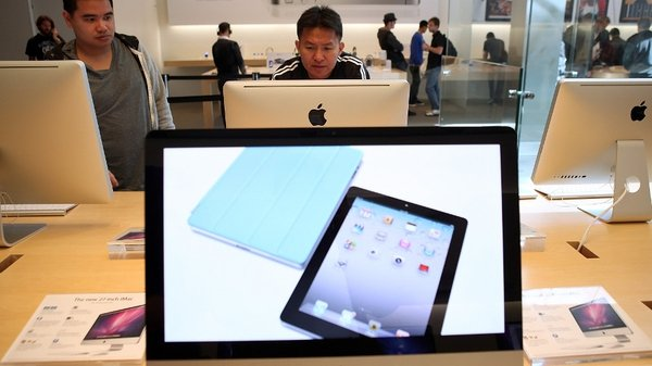 iPad sales nearly triple for Apple in latest quarter