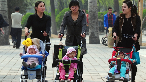 China - Policy puts pressure on only children to support their parents and two sets of grandparents