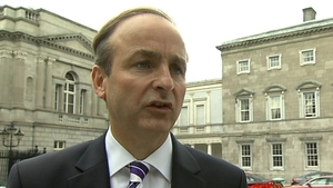 Micheál Martin said the party would move a motion on Mr Reilly as soon as possible