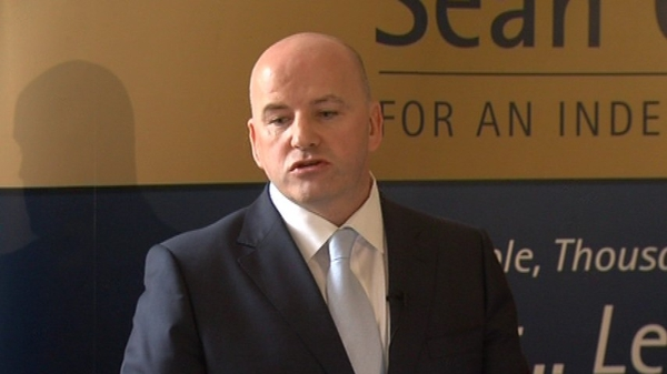 Seán Gallagher - Not told to resign from FF National Executive