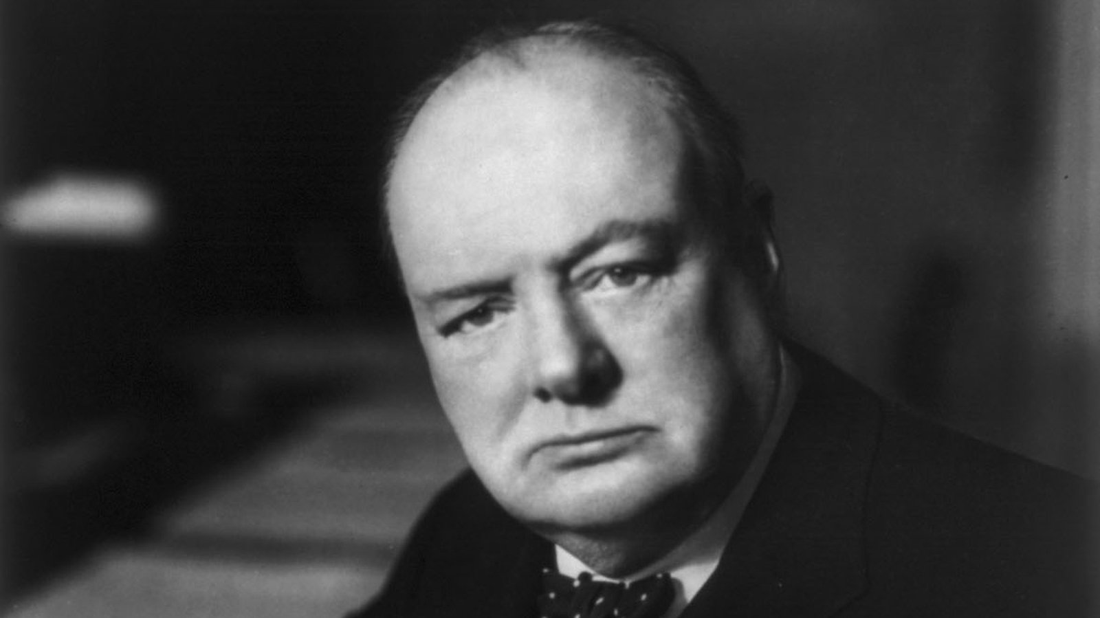 Image - Winston Churchill, who brought Collins and James Craig together in his role as colonial secretary
