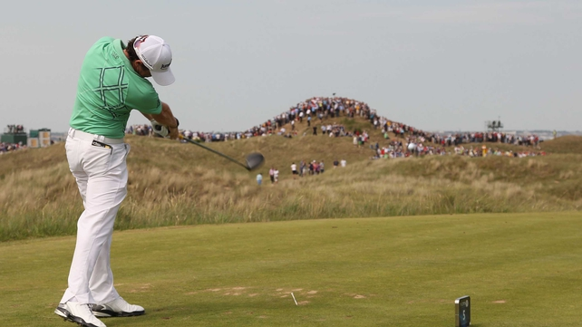 Rory McIlroy - Is level par after the second round in Sandwich