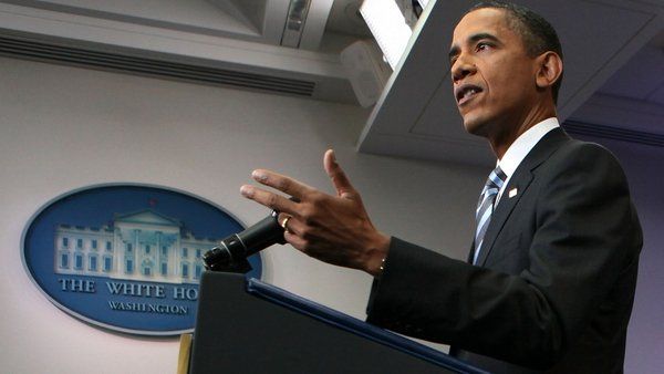 Debt - Speaking at a press conference President Obama said parties were running out of time