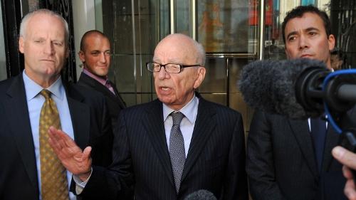Rupert Murdoch - Under pressure over phone hacking