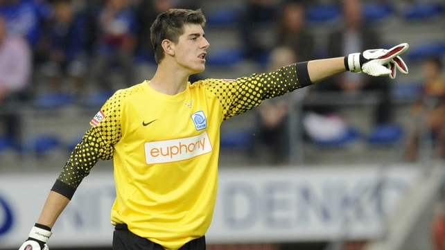 Thibaut Courtois has spent the last three years at Atletico Madrid