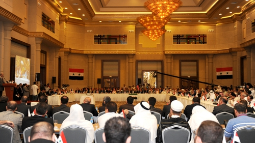 Syrian opposition - Meets in Turkey
