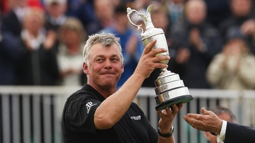 Darren Clarke lifted the Claret Jug at the 20th attempt