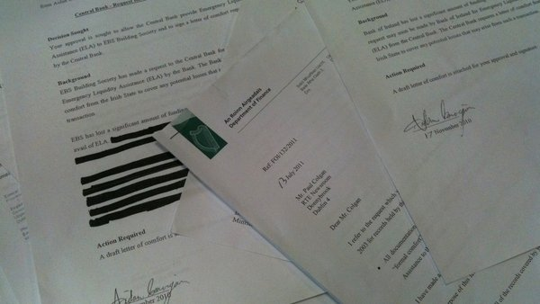 Fianna Fáil had proposed a Bill which would allow FOI requests on bodies like NAMA