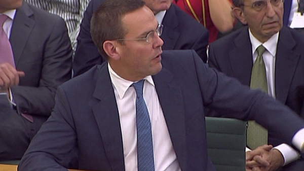 James Murdoch may be recalled to parliamentary committee