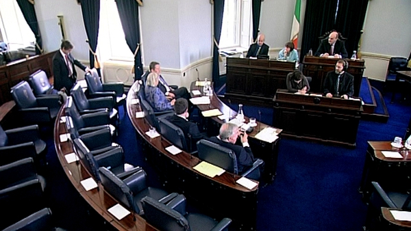 The Seanad is debating the Social Welfare Bill