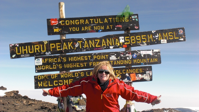 Deirdre Mullins on Kilimanjaro