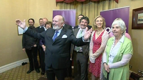 David Norris - Confident of securing backing for presidency