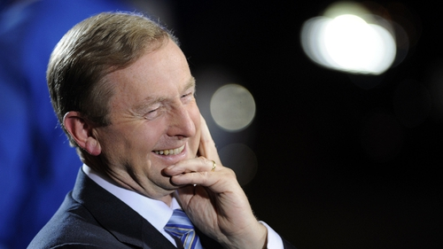 Enda Kenny - Deal came with no strings attached