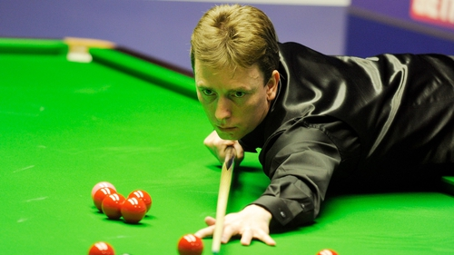 Ken Doherty led 2-0 and 3-2 in the best of nine frames match