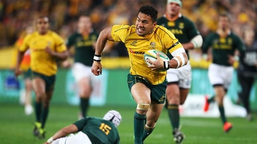 Digby Ioane is hoping to make his mark, in more ways than one, at Twickenham