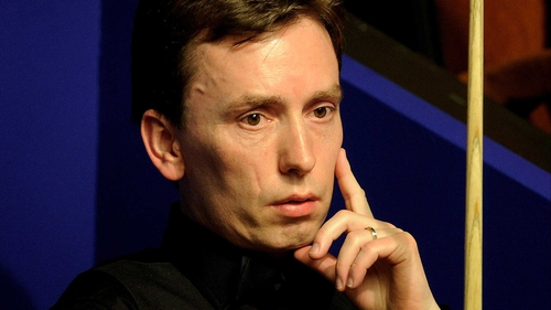 Ken Doherty knocked in a 62 break to beat Anthony Hamilton in the decisive frame