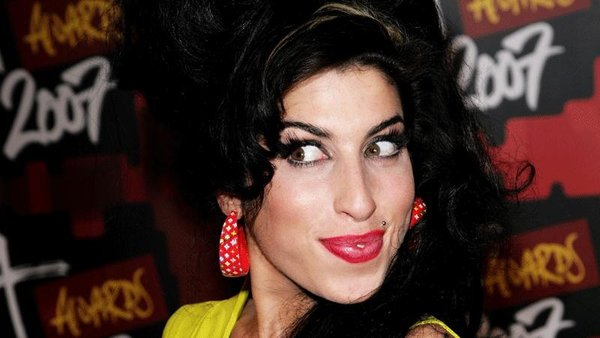 Amy Winehouse, who sadly died four years ago
